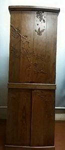 家具調仏壇,木彫り1