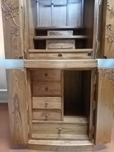 家具調仏壇,木彫り4