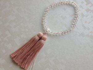 女性用数珠,新丸ハートマス 人絹房1