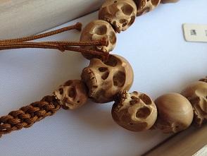 男性用数珠,白壇 正絹房2