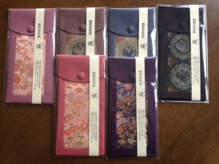 数珠袋,1(6色有り)