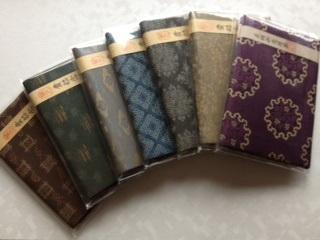 数珠袋,3正絹念珠袋(4色有り)1