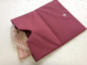 数珠袋,4七彩念珠袋(8タイプ有り)3