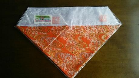 打敷,11京金襴西陣織り(上卓用付き)