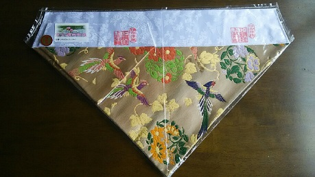 打敷,16京金襴西陣織り(上卓用付き)